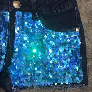Justice Bottoms - Girls JUSTICE Sequin Shorts